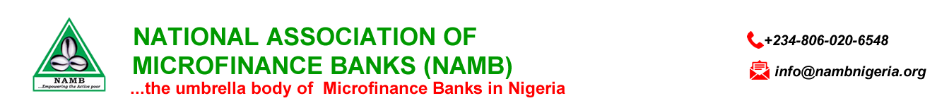 NAMB : National Association of Microfinance Banks